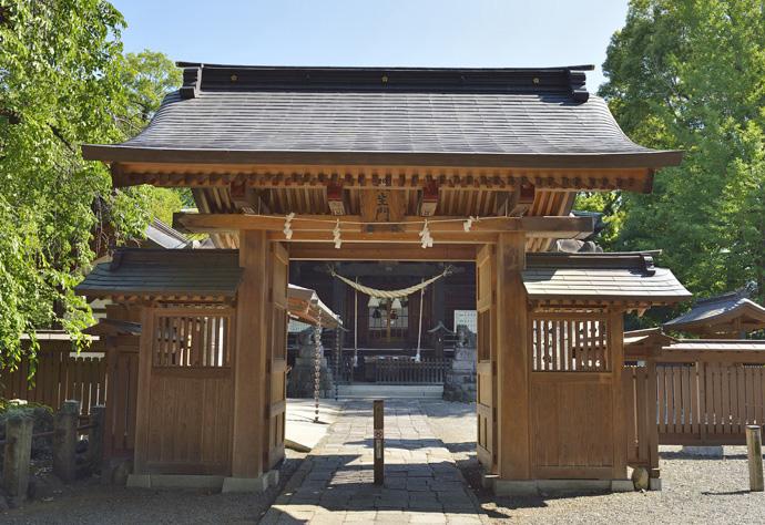 銅工事をやらせていただいた桐生天満宮の桐生門